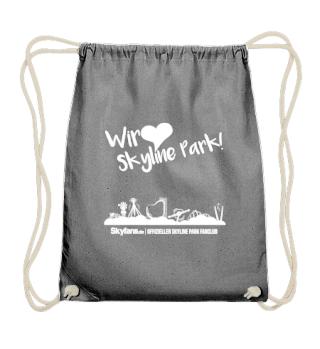 Wir lieben Skyline Park - Jutebeutel