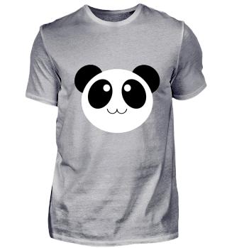 Panda Shirt Geschenk
