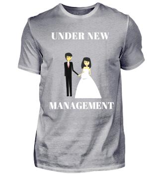 Under new Management Wedding