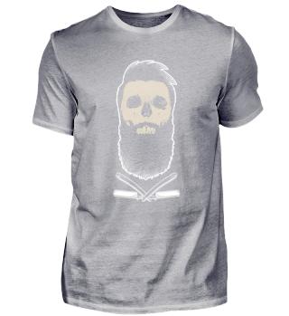 Bart Bartträger Totenkopf Skull
