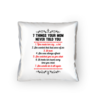 7 things your mom never told you - Gift