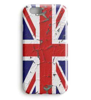 ★ United Kingdom grunge Flag vertical I