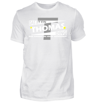 THOMAS DING | Namenshirts