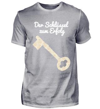 schwarzes cooles Schlüssel-T-Shirt