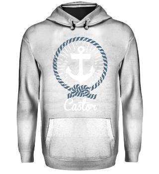 Anker Motiv - Nautical Castor