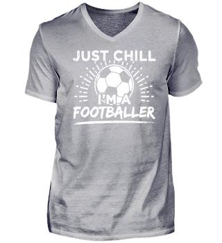Football Soccer Shirt Just Chill