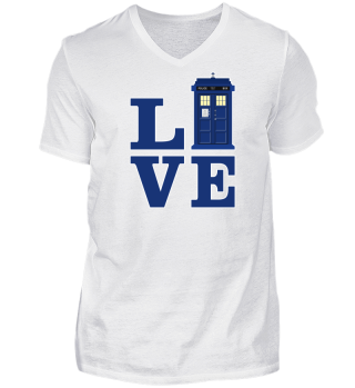 ★ Love Blue Travel Police Box II