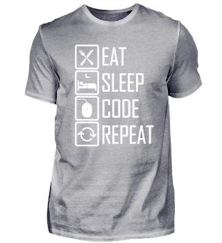 Eat, sleep, code, repeat