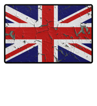 ★ United Kingdom grunge Flag