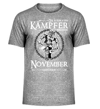 Die stärksten Kämpfer - November