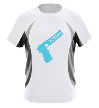 Polizeigewehr Job! Geschenk Idee Job Bau