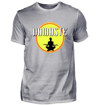 Namaste Meditation Sonne