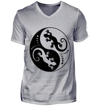 ♥ Yin Yang Geckos - Black