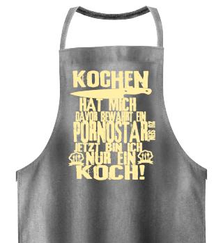 Koch kochen Küche Funny