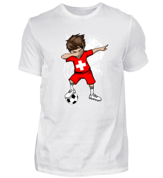 SWITZERLAND Soccer Football Boy Dab