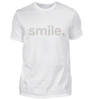 Smile lettering neon knotted