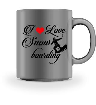 ♥ I LOVE SNOWBOARDING #3SRT