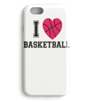 I LOVE BASKETBALL - Red