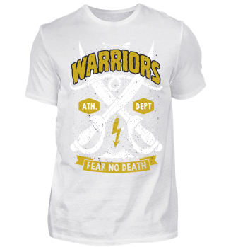 Herren Kurzarm T-Shirt Warriors Ramirez