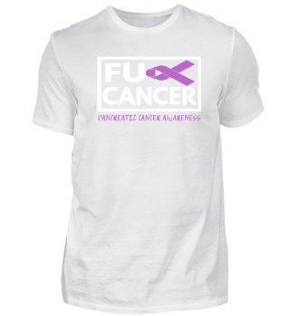 Fck Cancer Shirt pancreatic cancer
