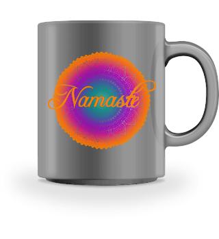 Ethno Folklore Lotus Mandala Namasté III