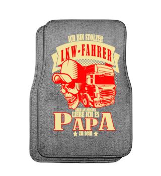 Papa ist Lkw-Fahrer- LKW Automatten