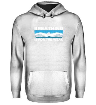 Breathing is for the WEAK Swimming Sport