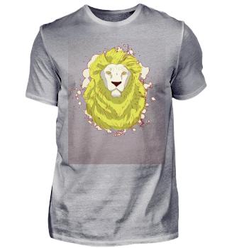 Lion Face White