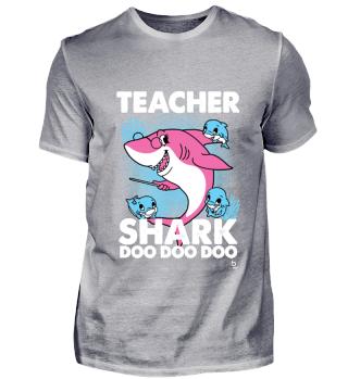 Teacher Shark Song Lehrer Geschenk