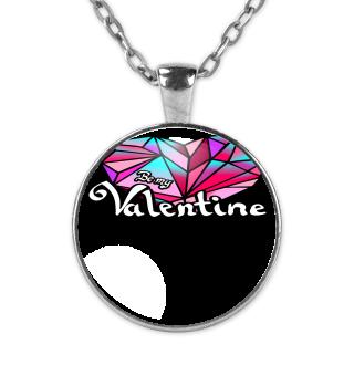 Valentinstag Be my Valentine Herz