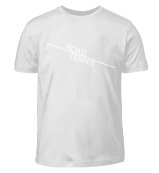 ROAD TENNIS line - white