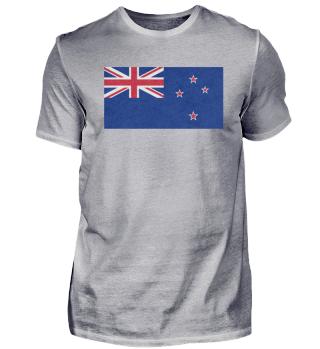 Neuseeland Flagge Design Motiv Geschenk