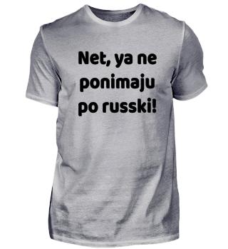 NE PONIMAJU PO RUSSKI - Funny Russian
