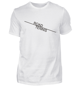 ROAD TENNIS line - black