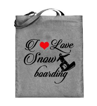 ☛ I LOVE SNOWBOARDING #3SR