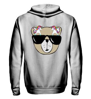 Dabbing Unicorns - Cool Teddy Bear 1