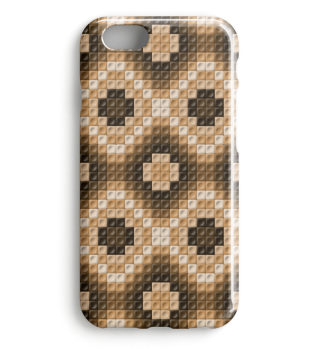 Braunes Smartphone Muster 0028