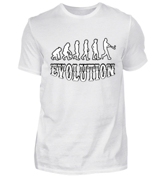 evolution Baseball spielen t shir