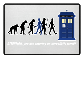 Evolution Of Humans - Police Box Va