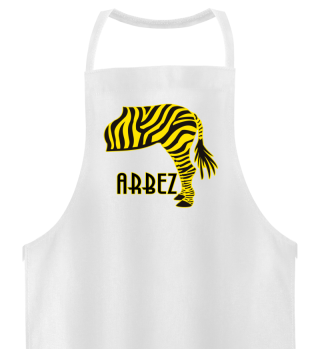 ARBEZ Zebra von Hinten - gelb