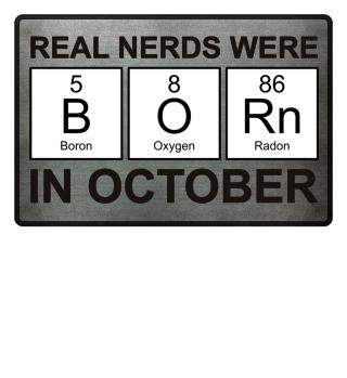 Periodic Elements - BORN october black
