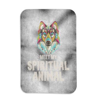 Meet my spiritual Animal Wolf