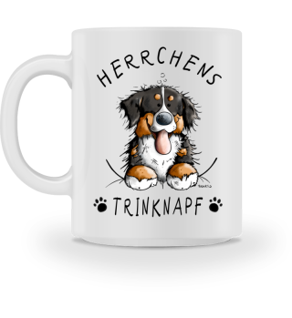 Herrchens Trinknapf Berner Sennenhund