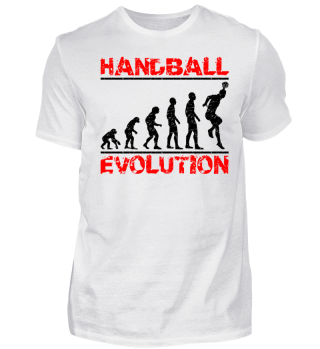 Fun Handball Evolution Gift Shirt