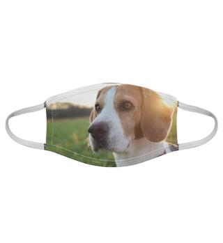 Gesichtsmaske mit Hundemotiv 20.3