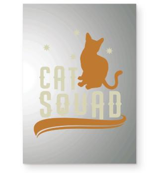 Cat Squad Group Cat