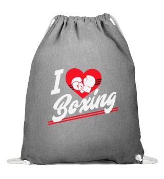 D001-0060A I love Boxing / Boxen