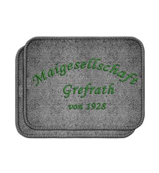 2er Set Automatten Schriftzug - Schwarz