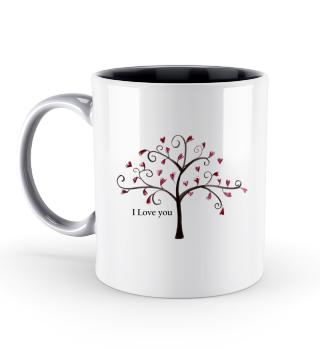 Herz Baum Valentinstag Geschenk idee