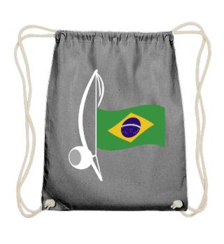 ★ Capoeira Berimbau Brazilian Flag 2